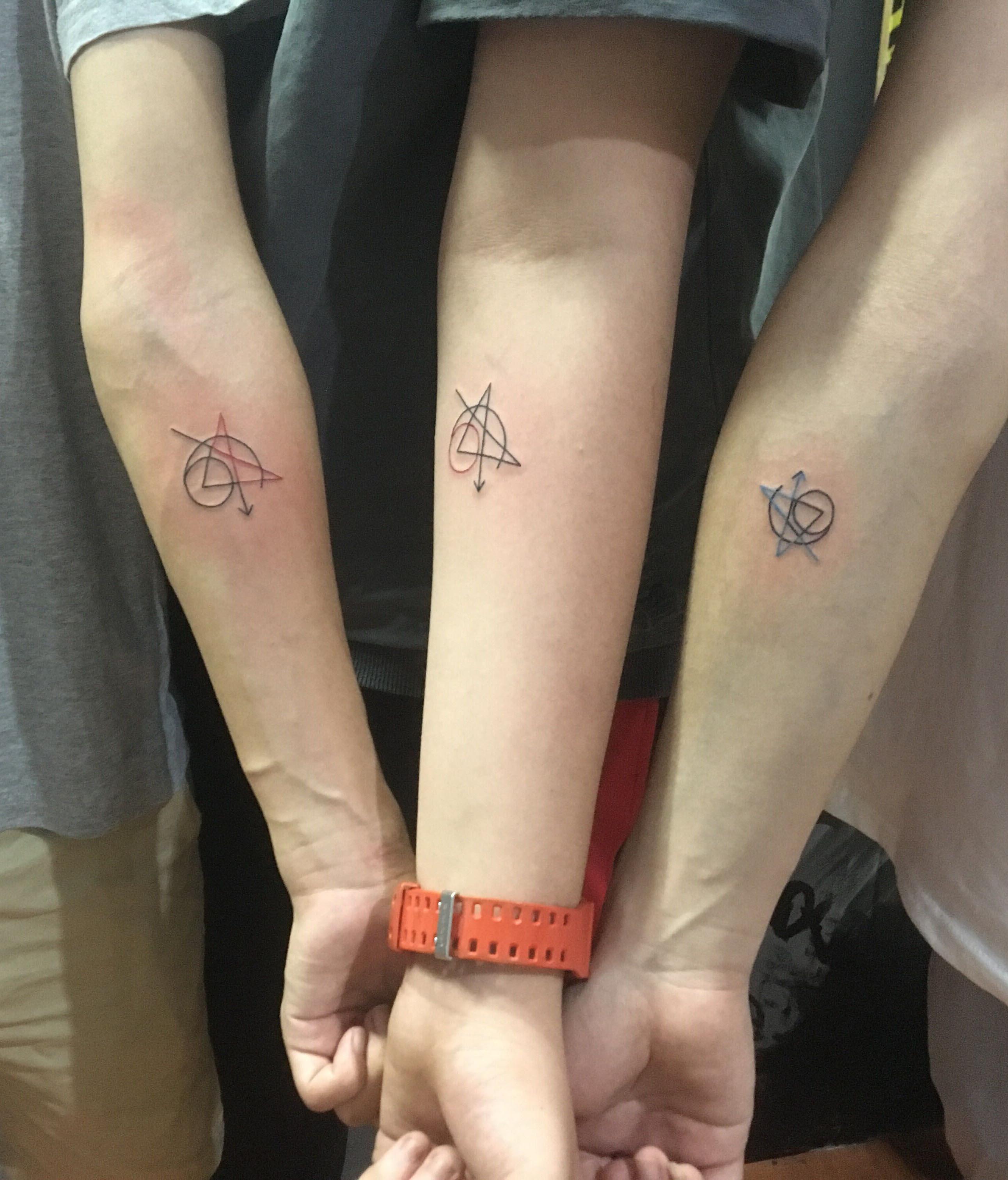 小清新兄弟联盟纹身-缩略图