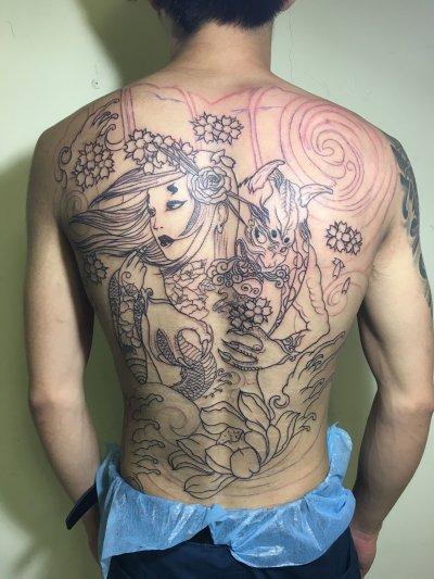 大花背纹身-缩略图