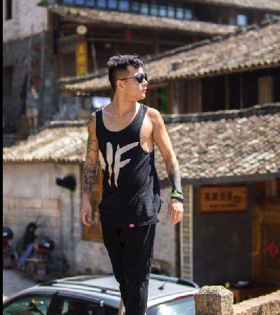 中国跑酷推广大使纹身展示-缩略图